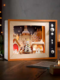 Led-televisie Kerstmarkt