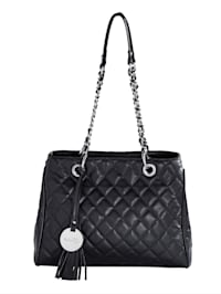 Handbag in a quilted pattern