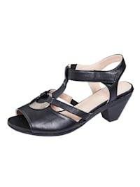 Sandale mit variablem Klettriegel