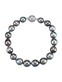 Bracelet à perles de culture de Tahiti