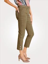 7/8-jeans in sportieve look