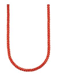 Korallen-Kette in Silber 925