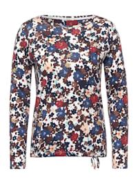 Shirt mit Blumen Print