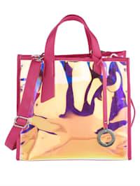 Handväska med avtagbart hänge 2 delar