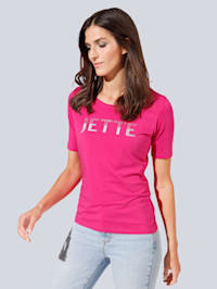 T-Shirt mit Strasssteinchen
