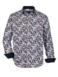 Overhemd met trendy print