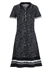 Jerseykleid im exklusiven Alba Moda Print