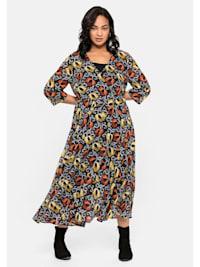 Kleid mit blickdichtem Unterkleid