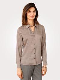 Satiininen paitapusero