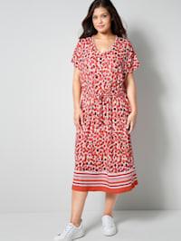 Jersey-Kleid mit Alloverprint