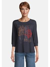 Casual-Shirt mit Ringel