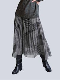 Rock im exklusiven Dessin von Alba Moda