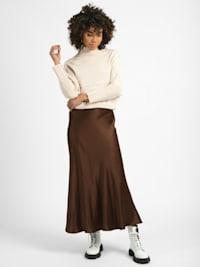 Pullover Abini Feinstrick-Organic- Cotton Pullover Langarm mit Cashmere