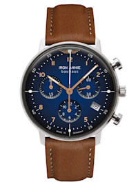 Damenuhr Chronograph Bauhaus Lady Braun/Blau