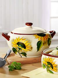 Suppentopf 'Sonnenblume'