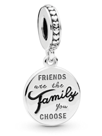 Charm-Anhänger -friends are the family you choose- 798124EN16