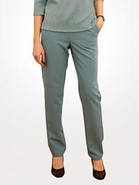 Pantalon en matière tissée extensible