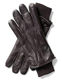 Leren handschoenen van zacht lamsnappa