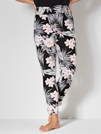Leggings allover floral bedruckt