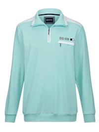 Sweat-shirt aux couleurs estivales