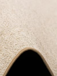 Sisal-Optik Designer Flachgewebe Teppich Pure Meliert Rund