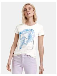 T-Shirt mit Print aus GOTS Bio-Baumwolle
