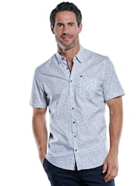 Modische Comfort-Stretch-Hemd mit Libellen-Print