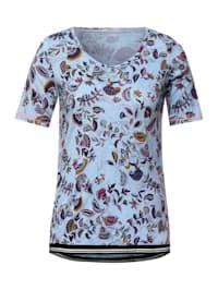 T-Shirt mit Paisley Print