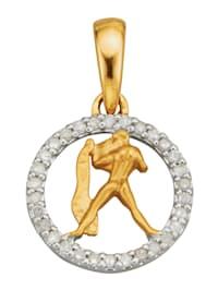 Hanger Sterrenbeeld met diamanten