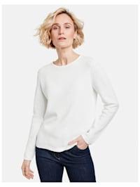 Pullover mit Strickmix