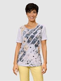Shirt aus gecrashter Warenqualität