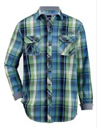 Overhemd met twee borstzakken