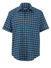Chemise manches courtes coupe spéciale ventre Coupe spéciale
