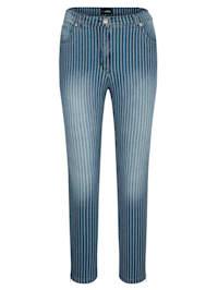 Jeans mit tollem Streifendruck