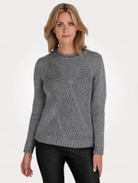 Jumper in a textured knit