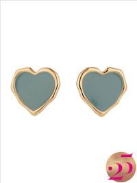 Ohrringe in Herzform, Jubiläumskollektion