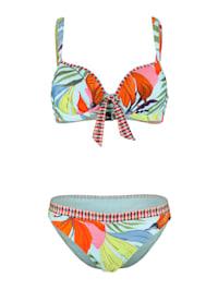 Bikini avec noeud fantaisie