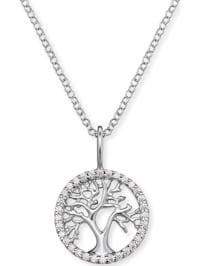 Engelsrufer Damen-Kette 925er Silber rhodiniert 32 Zirkonia
