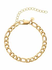 Fußkette für Damen, Edelstahl IP Gold