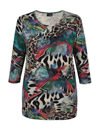 Tričko s módním celoplošným potiskem