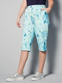 Bermuda à motif batik mode