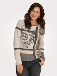 Pullover in haariger Qualität