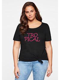 Sheego T-Shirt zum Knoten