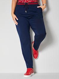 Sweatpants in trendy enkellang model
