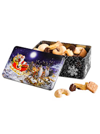 Weihnachts-Gebäckdose