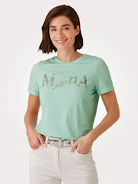 T-shirt à inscription exclusive