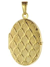 Medaillon mit Muster Gold 333 / 8K