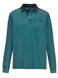 Sweat-shirt Délavé et teint