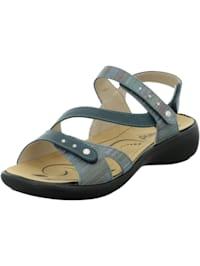 Damen-Sandale Ibiza 70, jeans-kombi