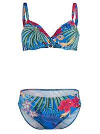 Bikini met Hawaii-print